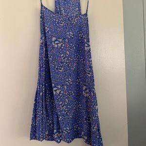 Summer flower a-line dress